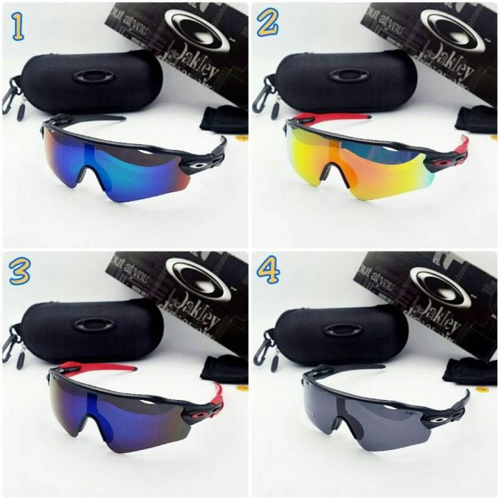 ... harga Kacamata pria cowok oakley radar titanium super polarized  polaroid Tokopedia.com cc8e0a9d1d