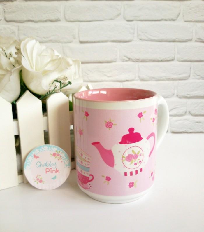harga Mug shabby chic mug cute mug teko Tokopedia.com