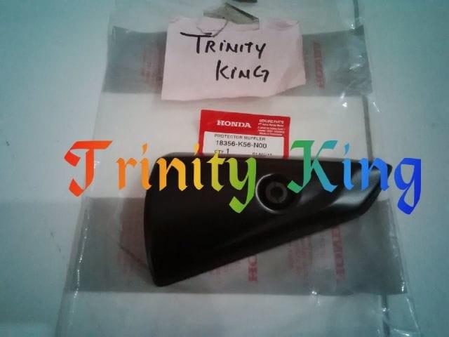 harga Protector muffler -cover knalpot honda sonic 150r original Tokopedia.com