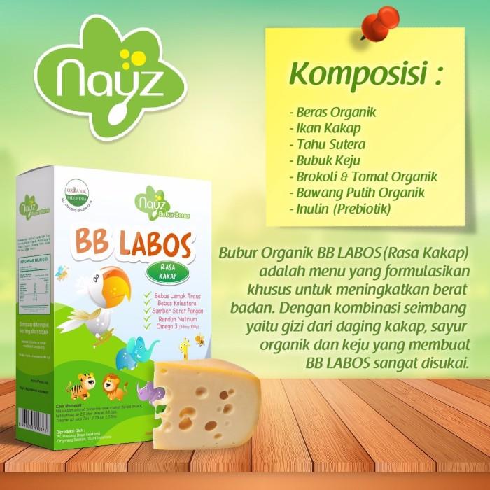 Nayz bubur bayi organik - bb labos (kakap) | bubur tim non instant