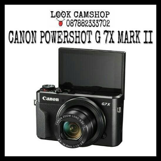 harga Canon powershot g7x mark ii / g 7x mark2 / g 7 x / g7 x mark 2 Tokopedia.com