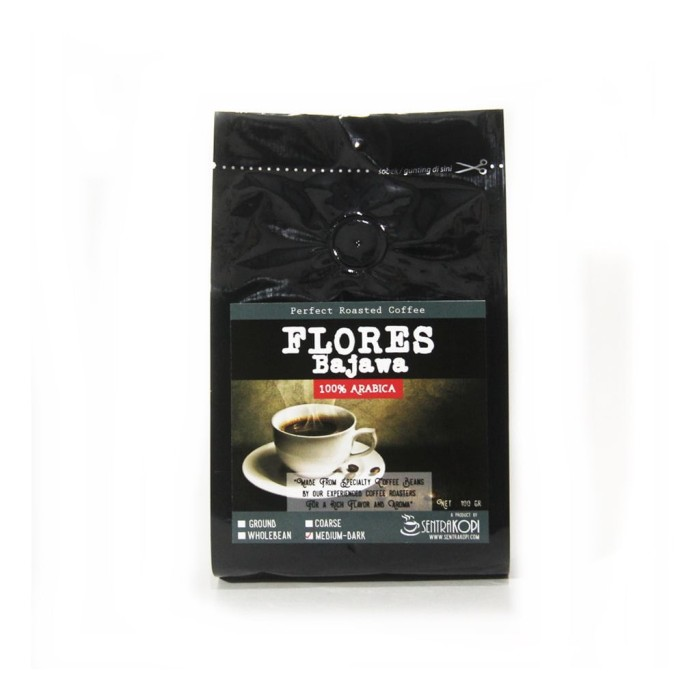 harga Kopi arabika flores bajawa 100 gram - bubuk / bji - arabica coffee Tokopedia.com