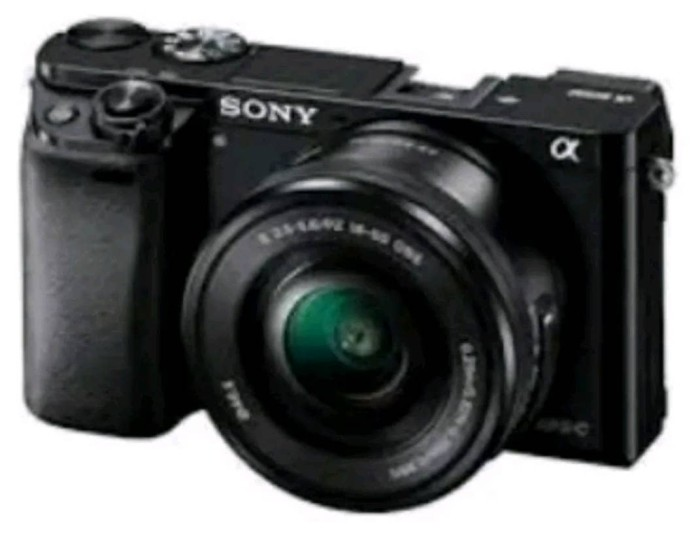 SONY ALPHA A6000 KIT 16 50mm 24MP FREE MEMORY 8GB GARANSI RESMI SONY