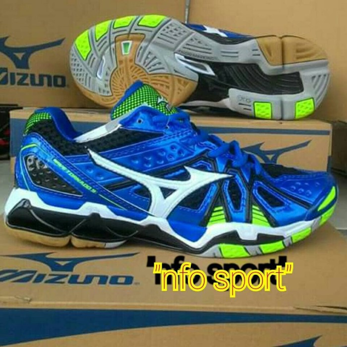 Jual sepatu volly mizuno wave tornado 9 low original - NFO  85b2258afb