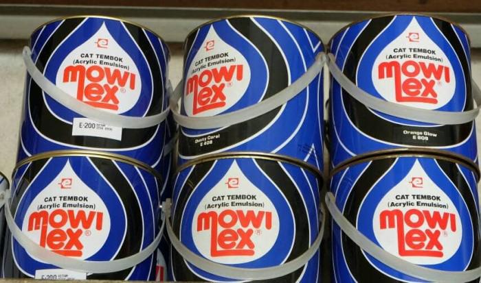 harga Cat tembok mowilex 2.5l warna standar Tokopedia.com