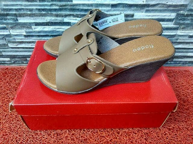 Jual sandal wedges fladeo - Fahira Branded Shoes  c8bc2c806b