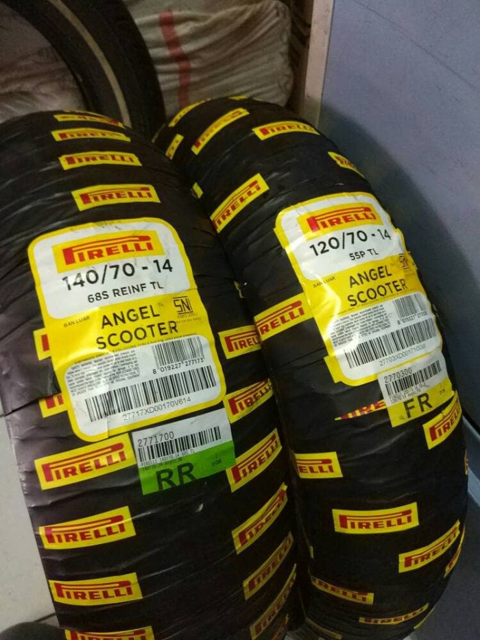 harga Pirelli angel scooter 140/70-14 & 120/70-14 Tokopedia.com