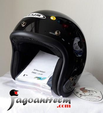 harga Zeus helm zs385 solid zs-385 import zs 385 retro classic Tokopedia.com