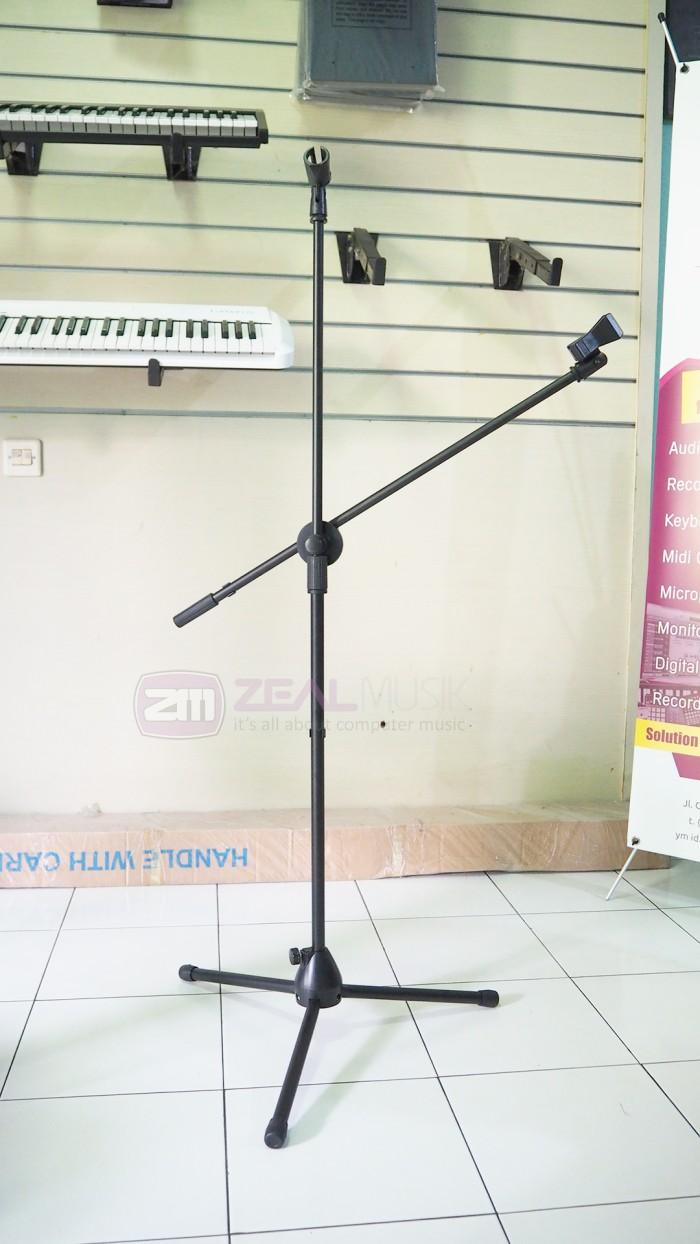 harga Xox stand mic boom tripod double arm Tokopedia.com