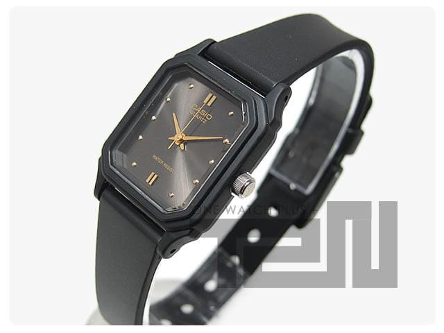 Casio analog jam tangan wanita karet lq-142e-1a lq 142e 1a original 78a916795a