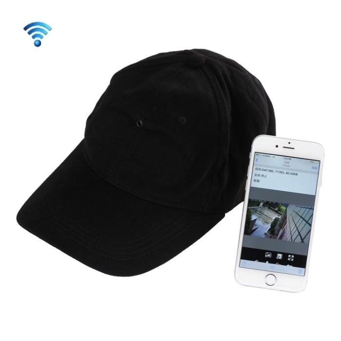 Jual Spycam WiFi Black Hat Camera 1080 Full HD - FIFOJAM  ea03e5172d8