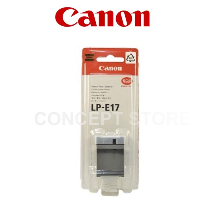 harga Canon battery lp-e17 . lpe17 original Tokopedia.com
