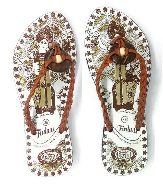 Sandal Sendal Jepit Wanita Cewek Tali Kepang Bali