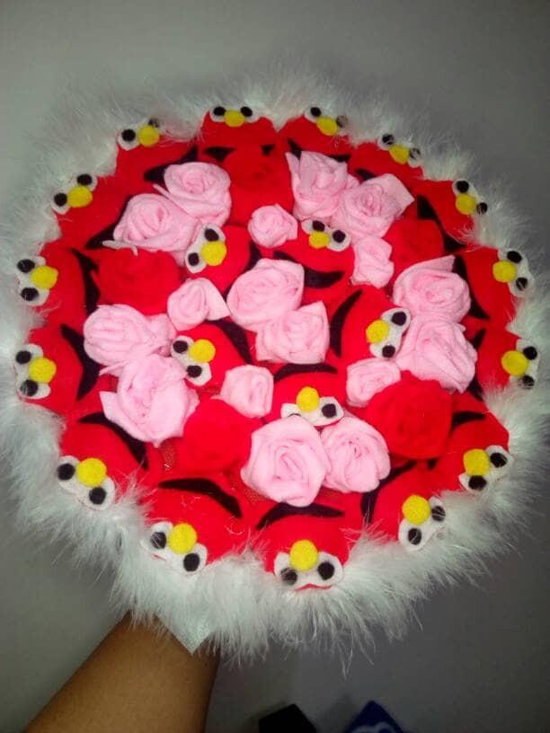 2570e87e326 Jual buket bouquet elmo 25cm boneka bunga valentine ultah wisuda ...