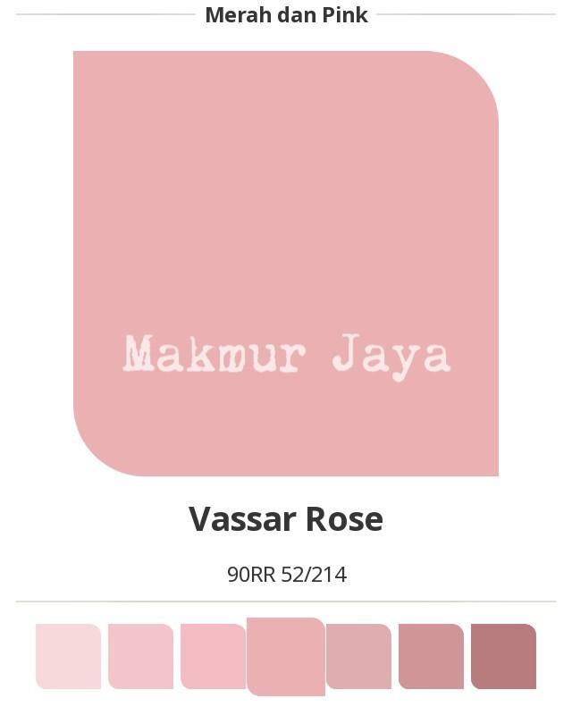 Jual Dulux Easyclean Vassar Rose Cat Tembok Anti Noda Easy Clean