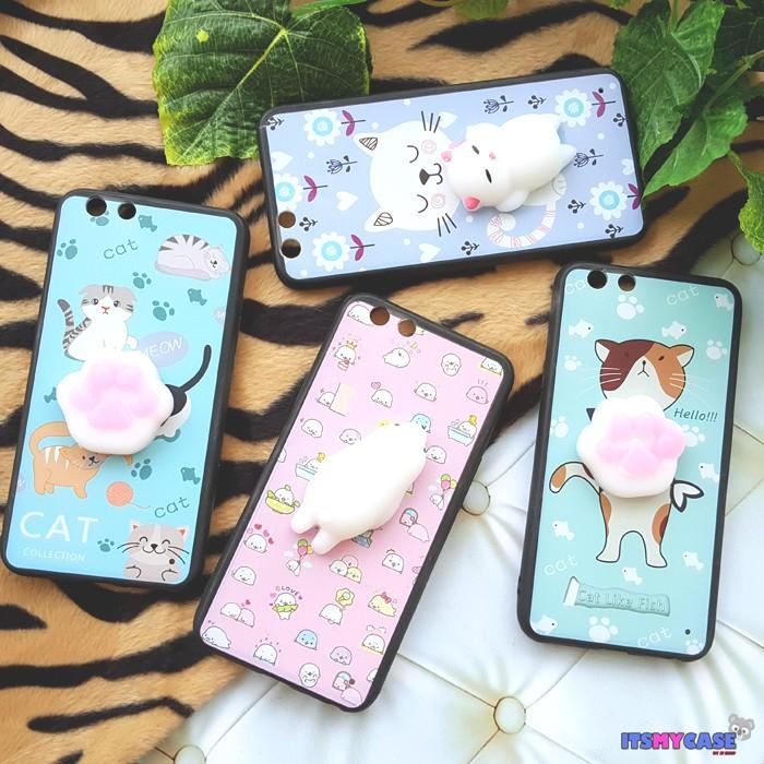 Foto Produk Oppo F1s / A59 Case Squishy Ver2 Hard Case Jelly Hewan Lucu - E DUA dari JT Shop Indo