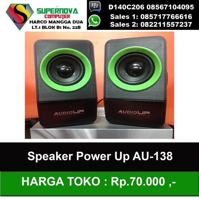 harga Speaker power up au-138 Tokopedia.com