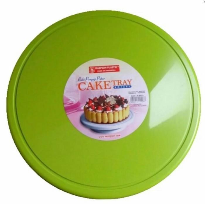 Jual Cake Tray Rotary Lazy Susan Meja Putar Penghias Kue