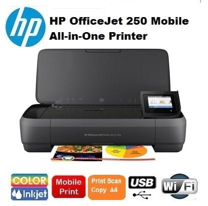harga Printer hp officejet 250 mobile all-in-one wifi portable hp wireless Tokopedia.com