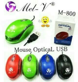 harga Mouse mel-v m800 optical usb Tokopedia.com