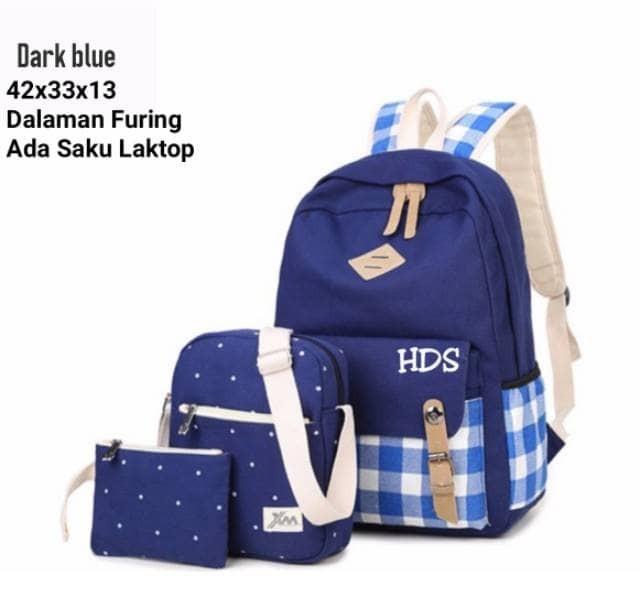 Jual tas sekolah kuliah tas serut tas import tas batam anak ransel ... bb68c3d5fb