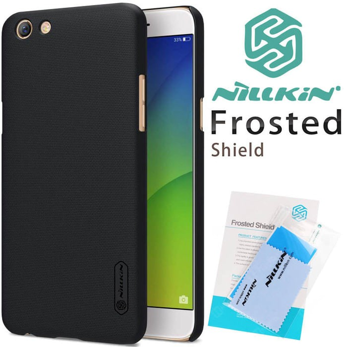 Oppo F3 F3f Nillkin Frosted Hard Case Cover Casing Original Hardcase
