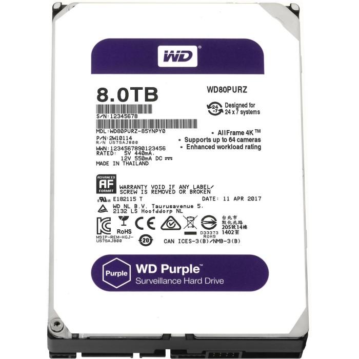 harga Wd purple 8tb - cctv hdd - internal hard disk surveillance Tokopedia.com