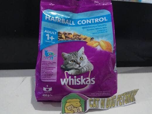 ... Whiskas HairBall Chicken Tuna 480gr Makanan Kucing Catfood