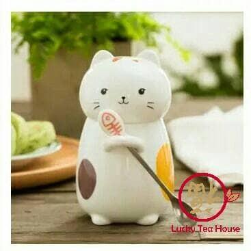 harga Mug cangkir gelas kopi keramik bentuk kucing cat 3d Tokopedia.com