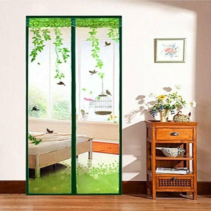harga Tirai kamar tidur magnet sangkar burung/ tirai pengusir nyamuk lucu Tokopedia.com