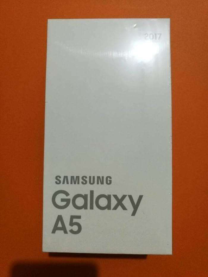 harga Samsung a5 2017 a520 a57 black gold pink garansi resmi sein 1 tahun Tokopedia.com