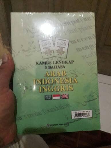 Katalog Kamus Bahasa Indonesia Inggris Travelbon.com