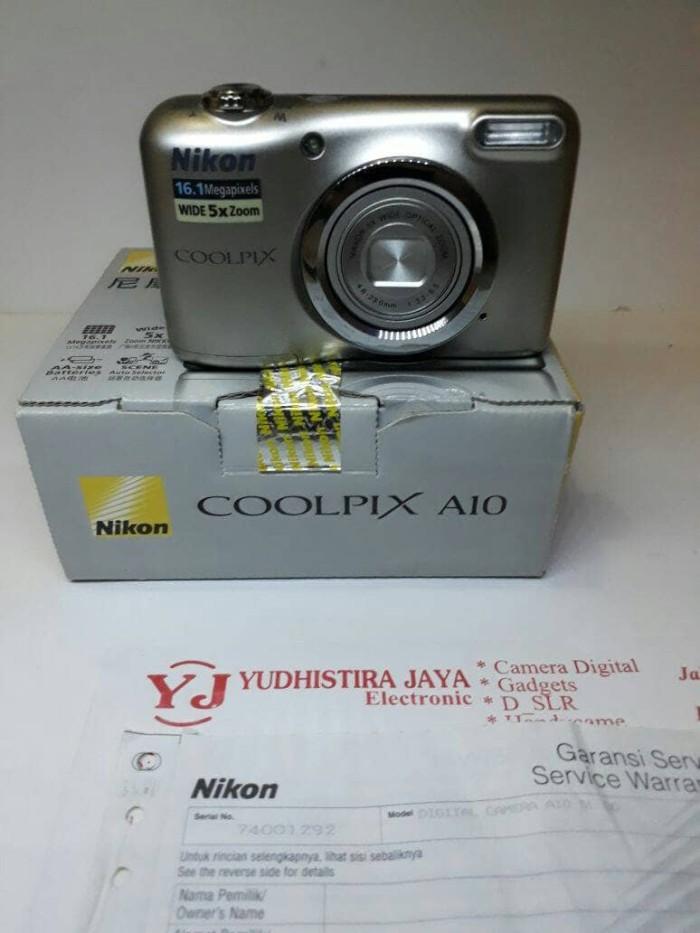 harga Nikon coolpix a10 resmi alta nikindo kamera digital aa battery Tokopedia.com
