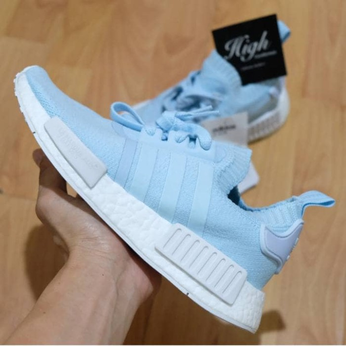 26422a736 Jual Adidas NMD R1 PK French Ice Blue