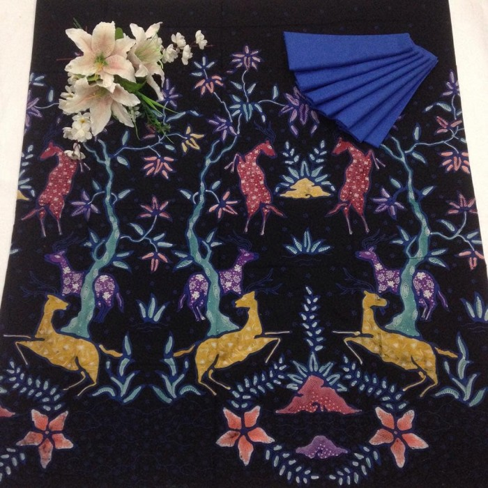 harga Kkbt106 kain batik tulis bahan katun motif cantik bawahan kebaya Tokopedia.com