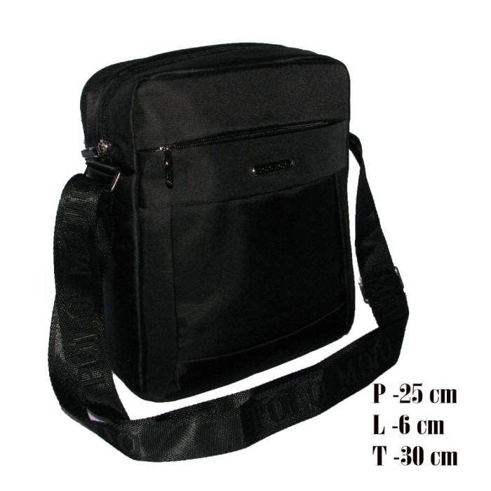 Polo moto tas selempang import d-004 black (l) fe0041116f
