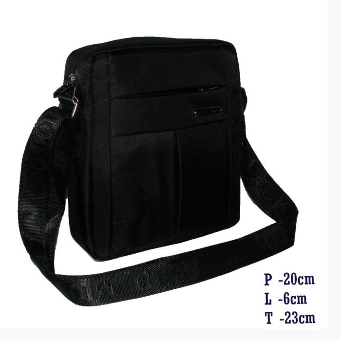 Polo moto tas selempang import d-002 black (m) 55fddd98a3