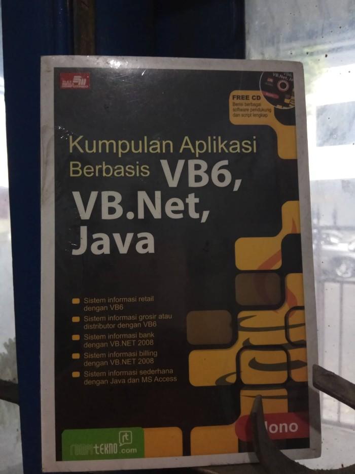 harga Kumpulan aplikasi berbasis vb6.vb.net.java-nono Tokopedia.com