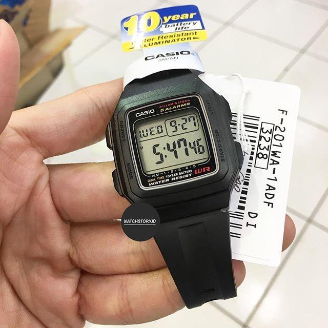 harga Casio f-201wa-1adf Tokopedia.com