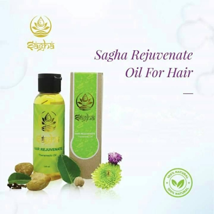 Sagha Rejuvenate Hair Oil (Minyak Rambut Sagha)
