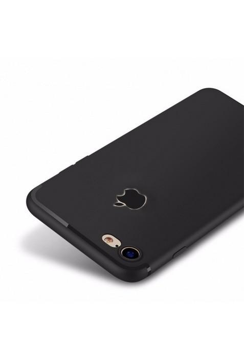 ... Softcase TPU Case Source · Case iPhone 8 8 plus Slim Silicone Apple Logo Cut Casing Premium
