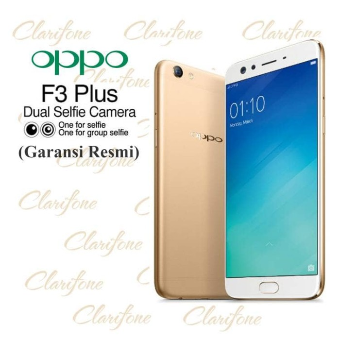 Oppo F3 Plus - Selfie Expert - Ram 4GB - Rom 64GB - Dual Front Camera