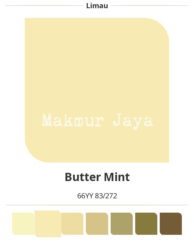 harga Dulux easyclean butter mint cat tembok anti noda easy clean pentalite Tokopedia.com