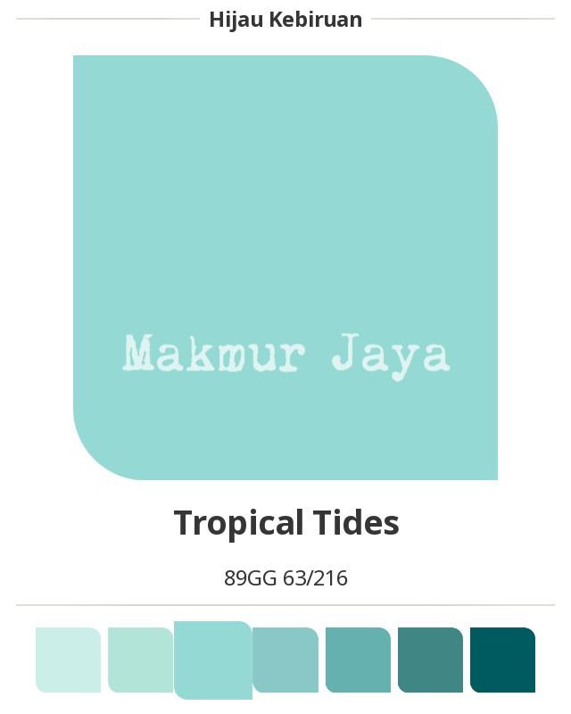 harga Dulux easyclean tropical tides cat tembok anti noda easy clean Tokopedia.com