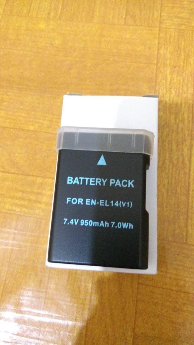 harga Baterai battery nikon en-el14 enel14 enel 14 for d3100 d3200 d5100 Tokopedia.com
