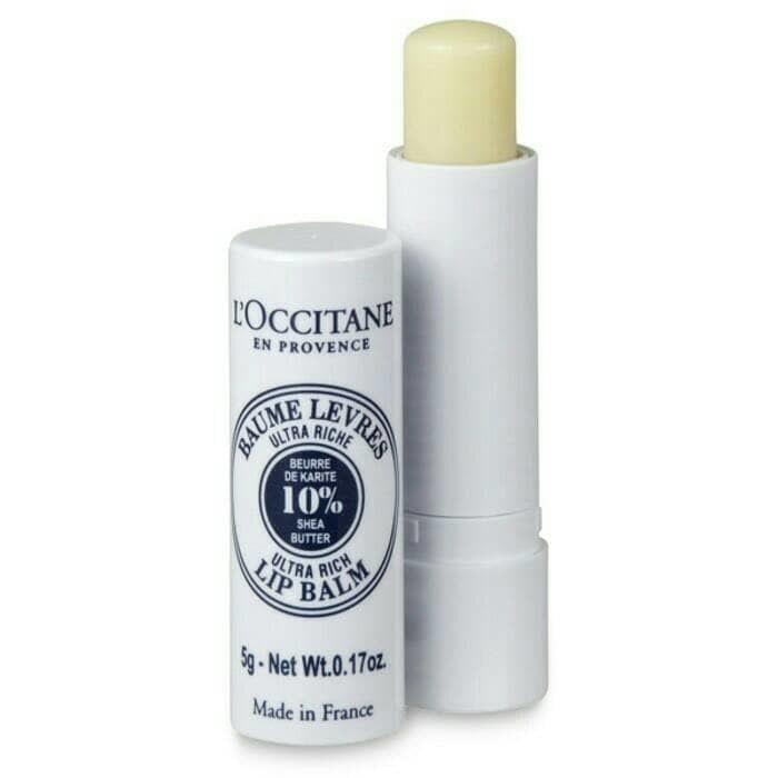 harga Amazon best l'occitane ultra-rich 10% shea butter nourishing lip balm Tokopedia.com