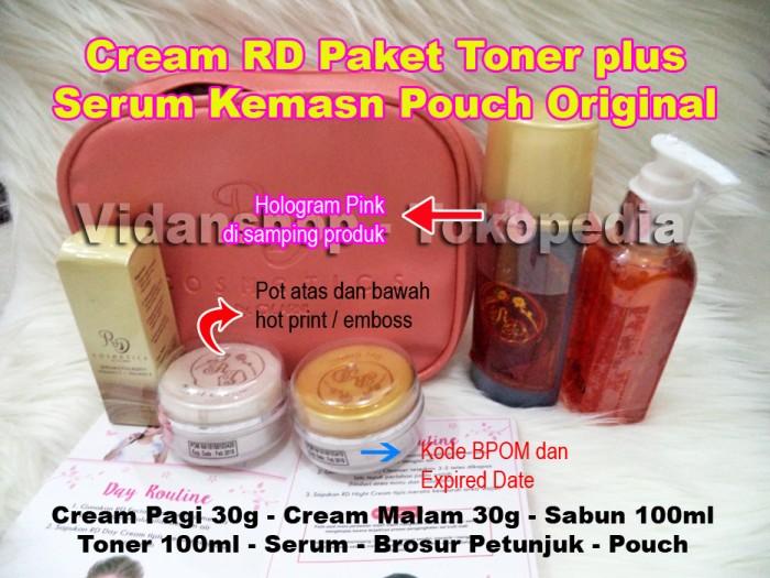 CREAM RD - KRIM RD PAKET TONER 30g plus serum Asli by CV Arni