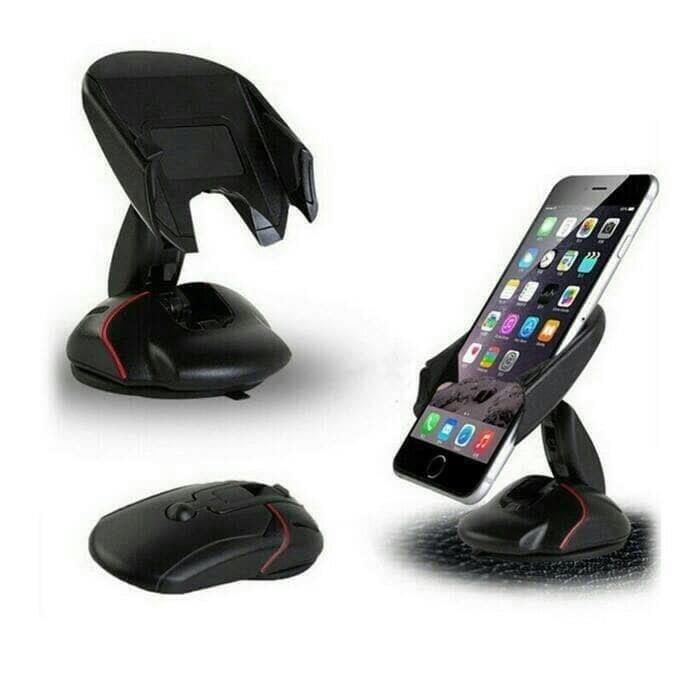 harga Universall holder dashboard mouse car phone stand tempat hp di mobil Tokopedia.com
