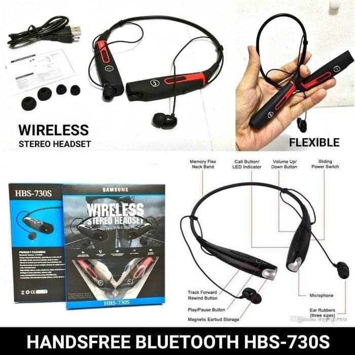 harga Headset wireless stereo samsung hbs 730s ( ultimate  style & sound ) Tokopedia.com