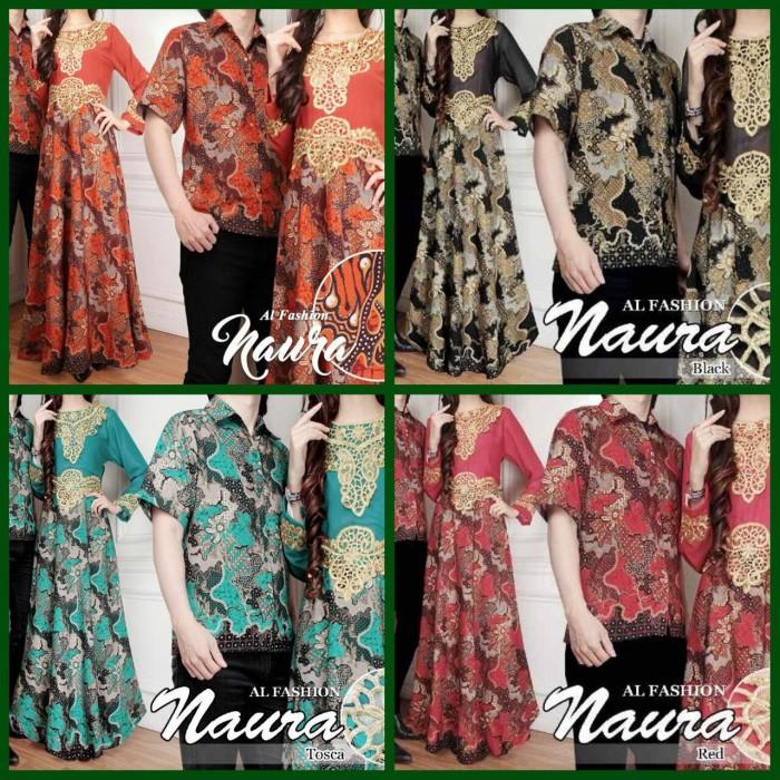 Couple Melina Baju Grosir Jogja Source · Baju Batik Couple Naura Sepasang Dress Kebaya Wanita Kemeja